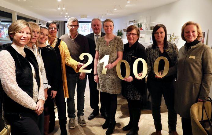 Inner Wheel Oostende schenkt 21.000 euro aan verschillende goede doelen.