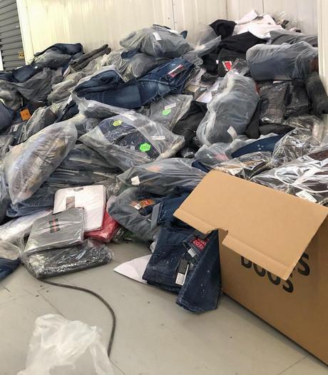 Fiod vindt vervalste merkkleding en cash