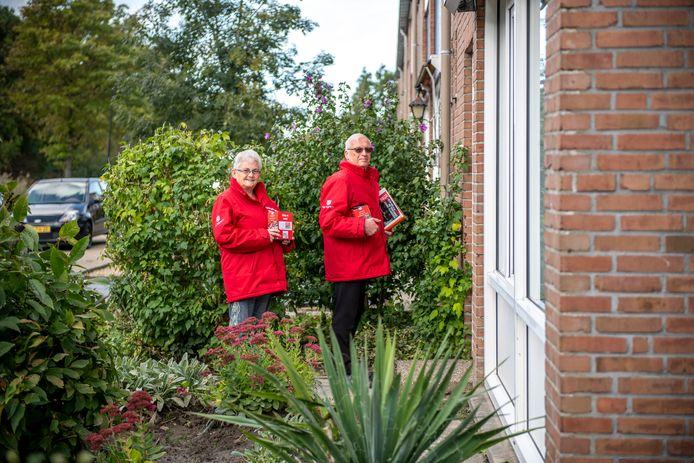 André en Lilian Pieters willen graag weer op pad voor Ride for the Roses, maar weten nu niet waar ze aan toe zijn.
