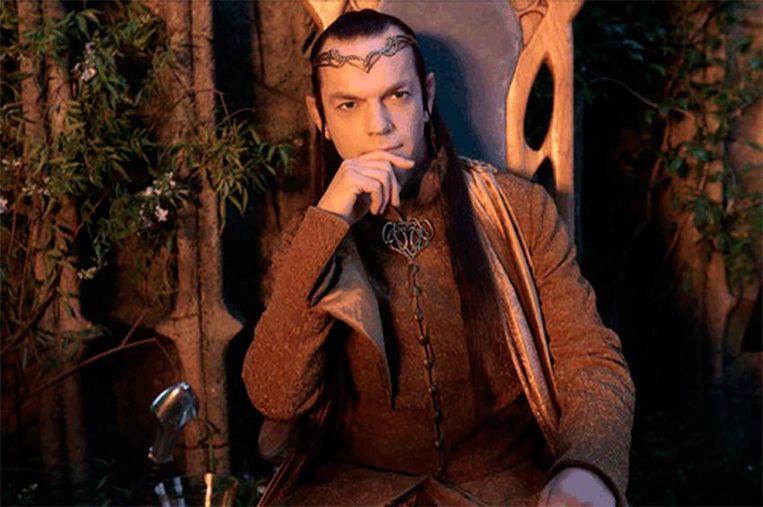 Het personage Elrond zou een bepalende rol spelen in de tv-reeks.