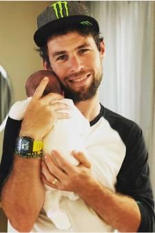 Cavendish verwelkomt zoon Casper, insmeren als teambuilding