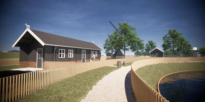 Zo komt de nieuwe kinderboerderij van Leerdam eruit te zien.