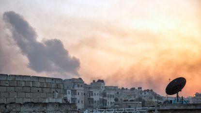 Minstens zes burgers gedood door raketaanval in Aleppo
