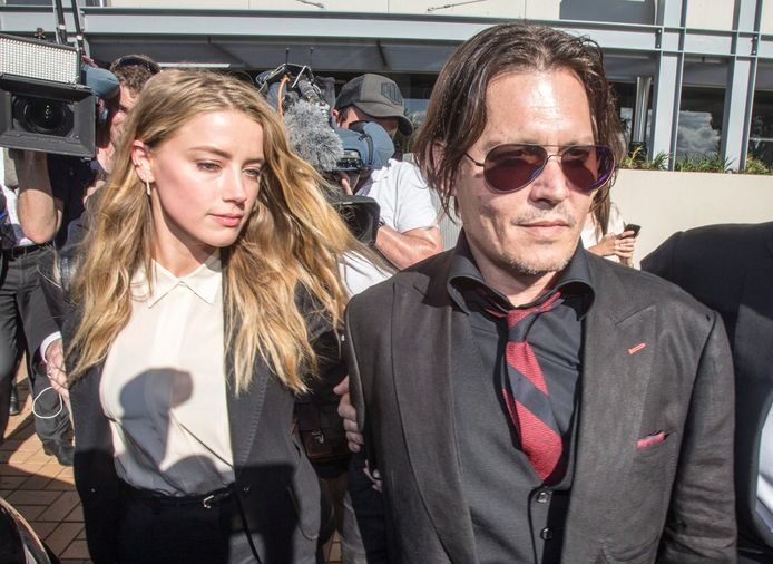 Amber Heard et Johnny Depp.