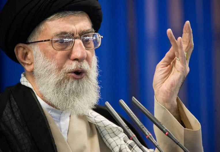 Ayatollah Ali Khamenei, de hoogste Iraanse leider