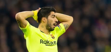 Kritiek op Suárez in Spaanse media wegens uitblijven goals
