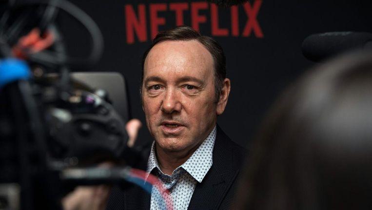 Het nieuws over het stoppen van House of Cards komt nadat hoofdrolspeler Kevin Spacey reageerde op een beschuldiging van aanranding Beeld anp