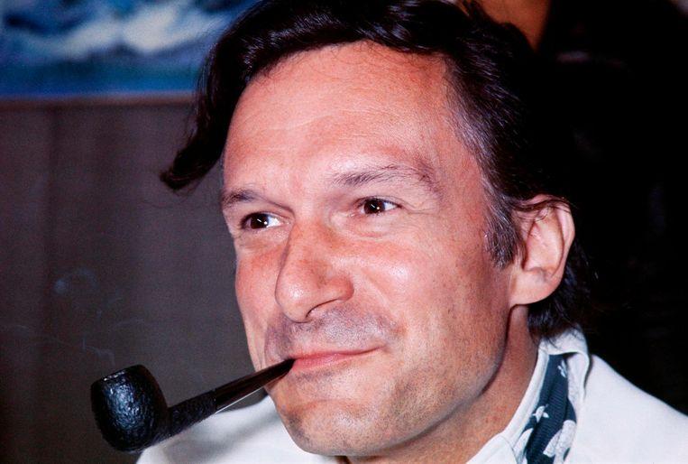 Hugh Hefner in 1970 Beeld anp