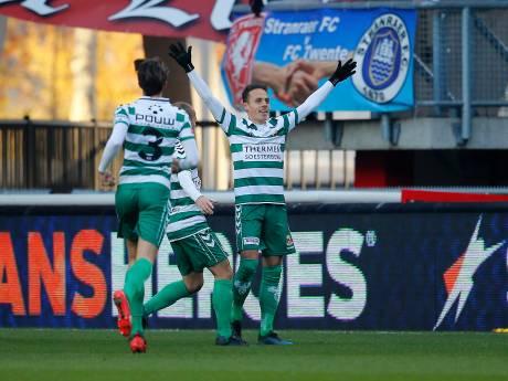 GA Eagles wint beladen derby bij FC Twente met 0-1