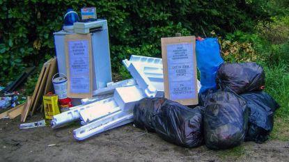 20.000 kilo afval opgeruimd in 2018: mobiele camera is nieuwste wapen in strijd tegen sluikstorters