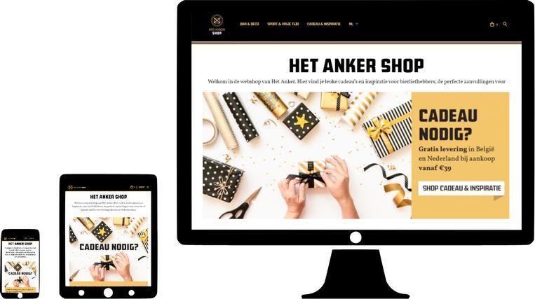 Brouwerij Het Anker in Mechelen lanceerde donderdag een webshop.