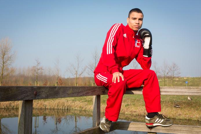 Enrico Lacruz gaat dit weekend voor het Nederlands Kampioenschap.