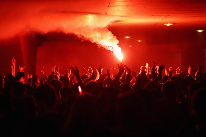 Fans van Ajax.