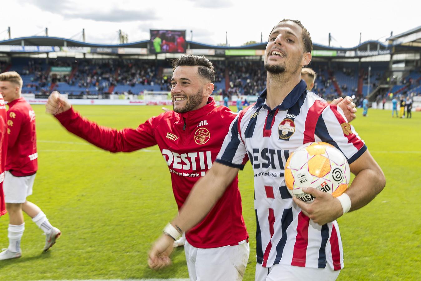 Fran Sol heeft met zijn goals een belangrijk aandeel in het succes van Willem II.