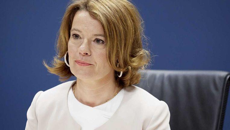 Merel van Vroonhoven voorzitter van de Autoriteit Financiële Markten (AFM). Beeld anp