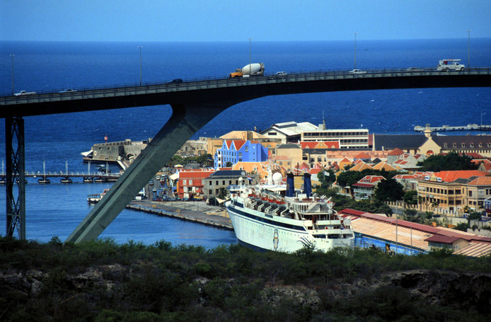 Curaçao, het eiland waar de witwaszaak zich afspeelde.