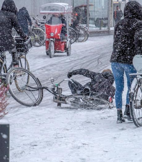 Glibberen of gewoon doorfietsen? Hoe gaat het op de fietspaden in Zuidoost-Brabant?