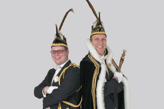Links Rick van Kempen en rechts Ton van de Wiel.