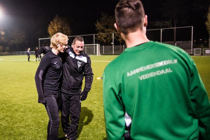 Trainer Maarten Kerkhof ziet het weer zitten met Redichem.