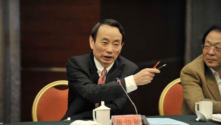 Jiang Jiemin op een foto uit 2009. Beeld epa