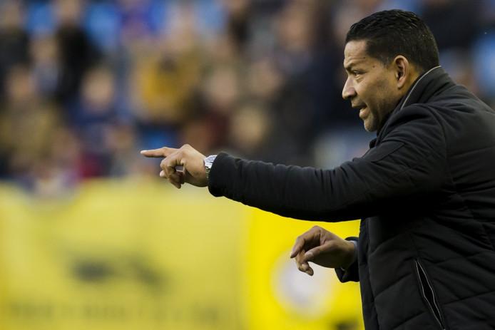 Vitessetrainer Henk Fraser.