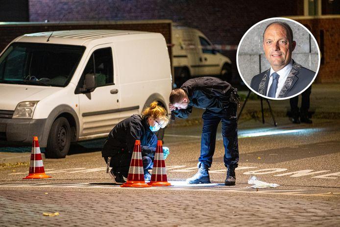 Burgemeester Snijders is geschrokken van de schietpartij in zijn stad.
