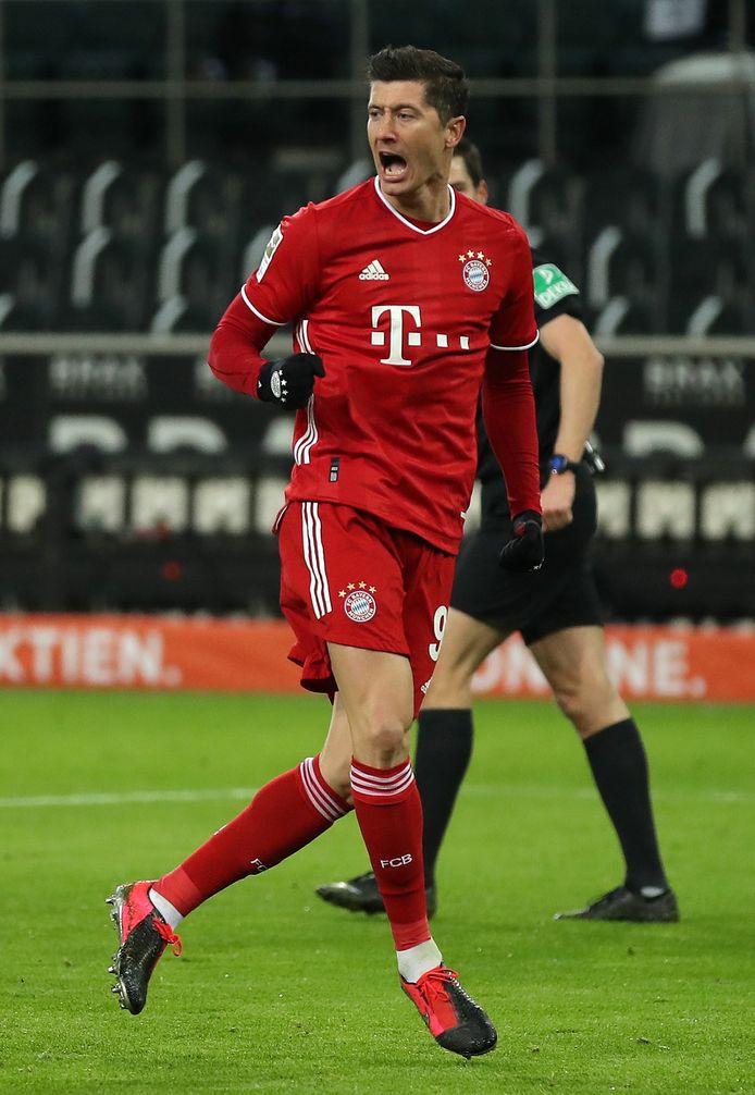 Robert Lewandowski won sinds zijn overstap naar Bayern elk jaar het landskampioenschap en pakte een keer de Champions League.