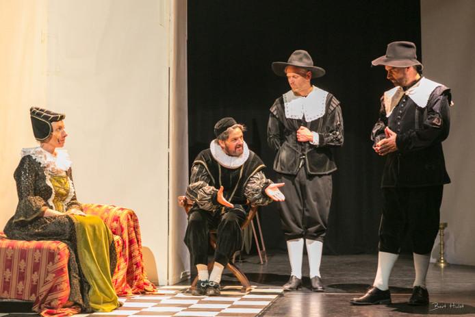 Uitvoering stuk over Willem van Oranje