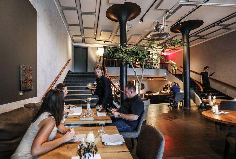 Restaurant Coulisse aan de Oostenburgergracht. Beeld Eva Plevier