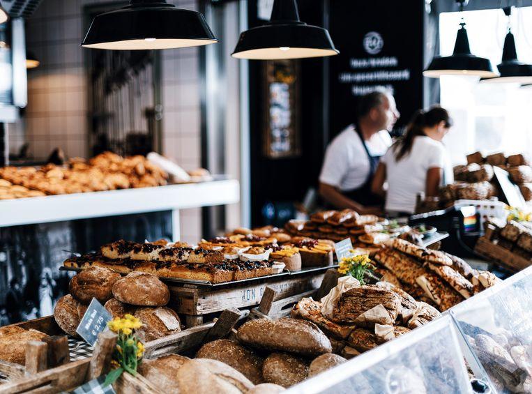 Bakkerij in Amsterdam.