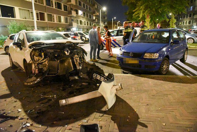 De bestuurder van de Polo verdween na het ongeluk