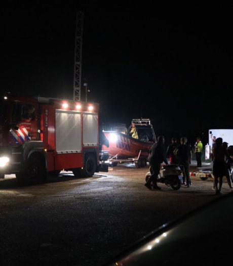 Grote zoekactie in de Nederrijn naar vermiste jetski-bestuurder, man blijkt ongedeerd