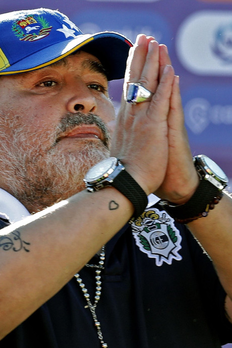 Diego Maradona claque (déjà) la porte du Gimnasia La Plata