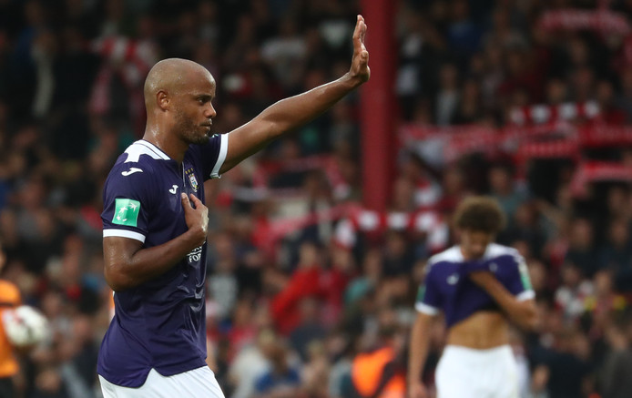 Vincent Kompany s'excuse devant les supporters