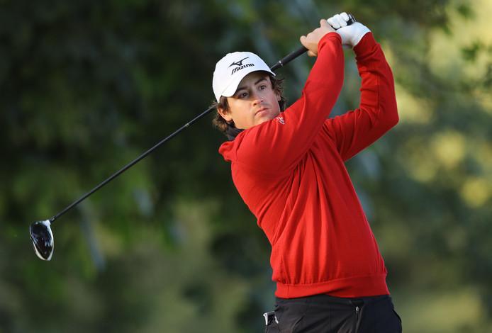 Golfprofessional Darius van Driel.