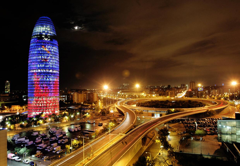 De Torre Glories, van architect Jean Nouvel, in Barcelona.