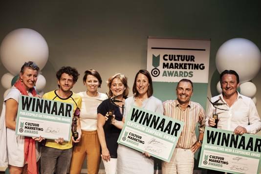 Het Luxor Theater won twee van de drie prijzen. Naturalis in Leiden ging er met de andere award vandoor.