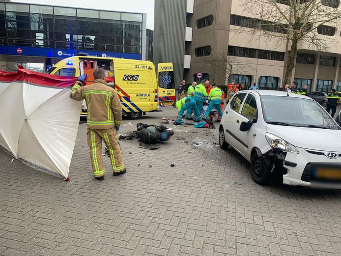 Zwaargewonde na ongeval in Eindhoven.