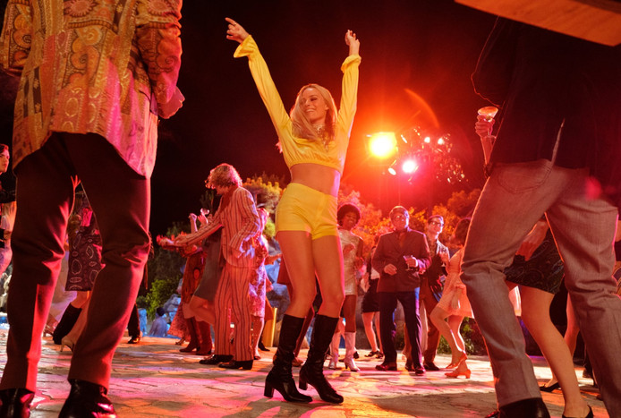 "Margot Robbie joue Sharon Tate dans ""Once Upon a Time... in Hollywood""."