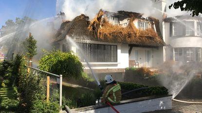 Pas gerenoveerde villa verwoest