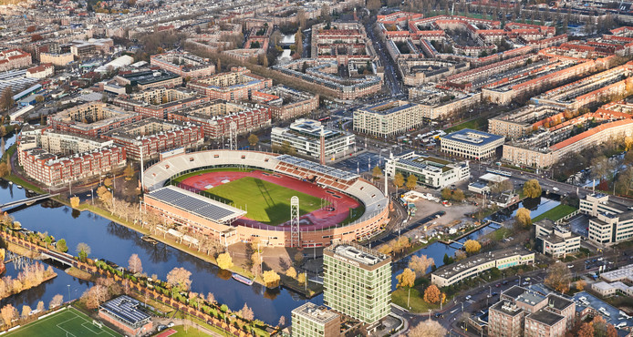 The Olympic Amsterdam.