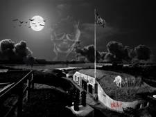 Griezelen tijdens Halloween op Spookfort Pannerden