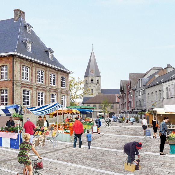De vernieuwing van de stadskern zal veel geld kosten.