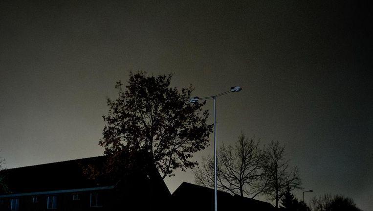 Amsterdam zat dinsdagochtend lange tijd zonder stroom. Beeld anp