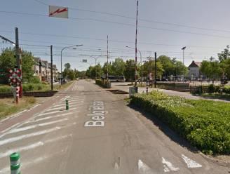 Spoorwegovergang aan Belgiëlaan 's nachts enkele dagen gesloten