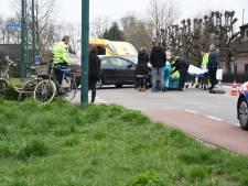 Meisje gewond na botsing met auto in Woerden