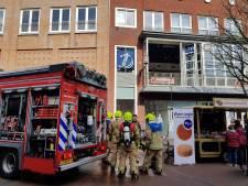 Lunchzaak ontruimd in Spijkenisse door brand