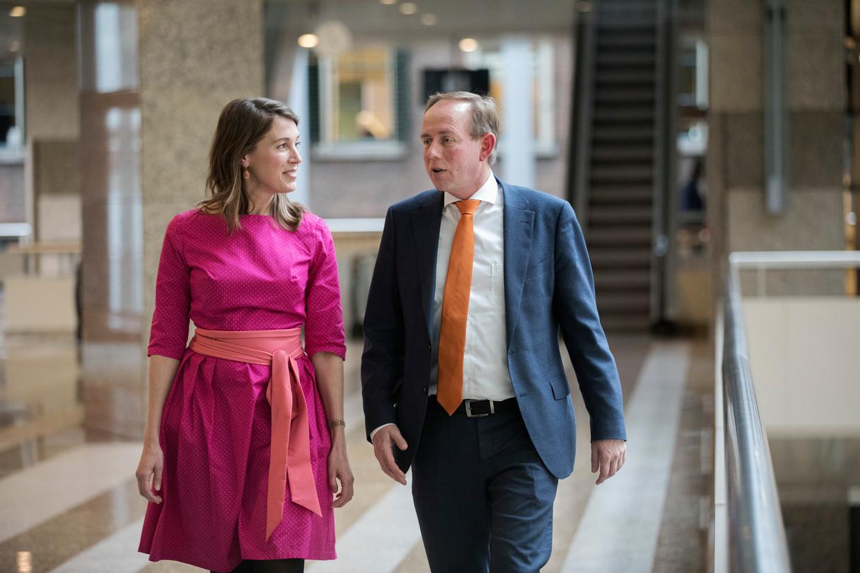Kamerleden Corinne Ellemeet (GroenLinks) en Kees van der Staaij (SGP) zoeken geregeld de confrontatie in de debatten over medische ethiek.