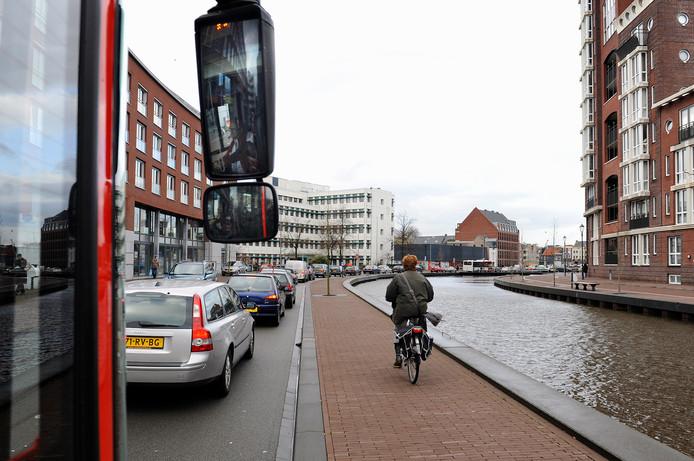 Hij is misschien niet zo schoon, maar zeker in de weekeinden blijft de Baronesgarage in het centrum van Breda een geliefde plek om te parkeren, zoals blijkt uit deze file.