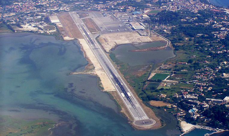 Privatiseringsobjecten: Corfu Airport. Beeld .